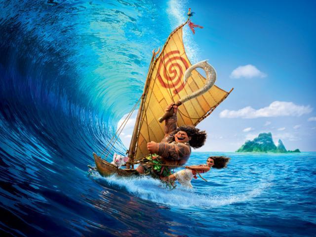 海洋奇緣 數位珍藏刪剪片段6《獨木舟比賽》 線上看