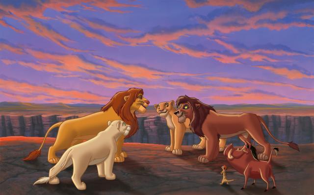 獅子王主題動畫獅子王2:辛巴的榮耀 線上看