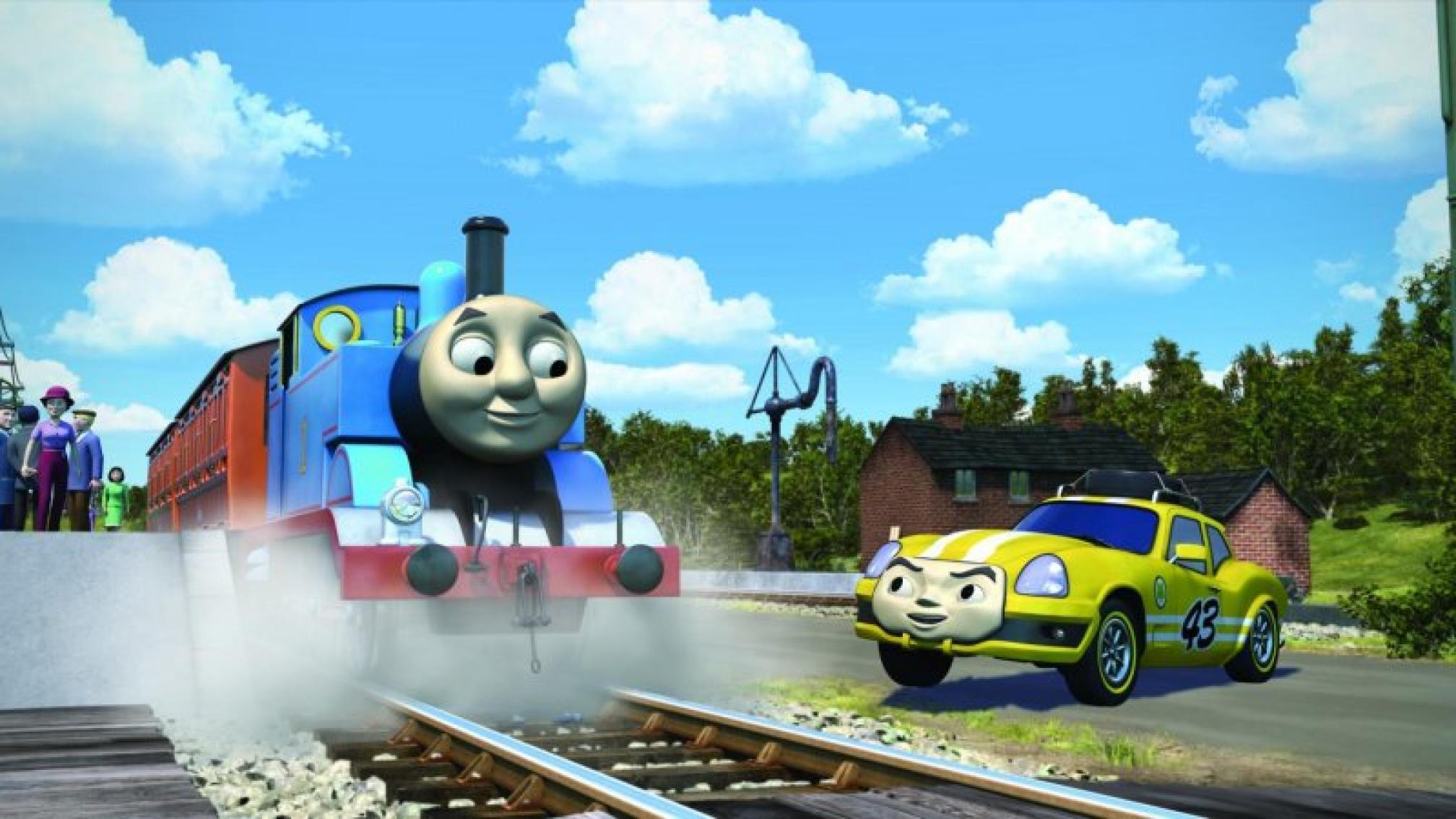 湯瑪士小火車:環遊世界大冒險預告片 01