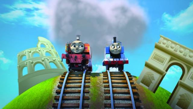 湯瑪士小火車:環遊世界大冒險劇照 3