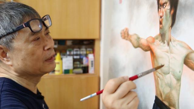 海報師:阮大勇的插畫藝術預告片 01