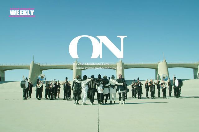 韓國娛樂週刊防彈少年團《ON》 線上看