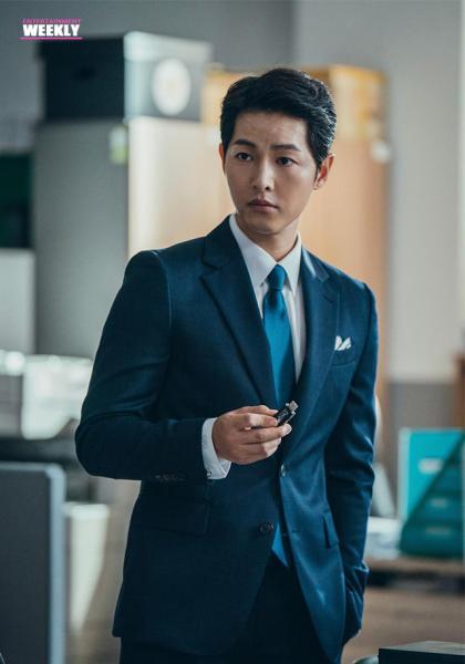 韓國娛樂週刊 宋仲基《黑道律師文森佐》線上看