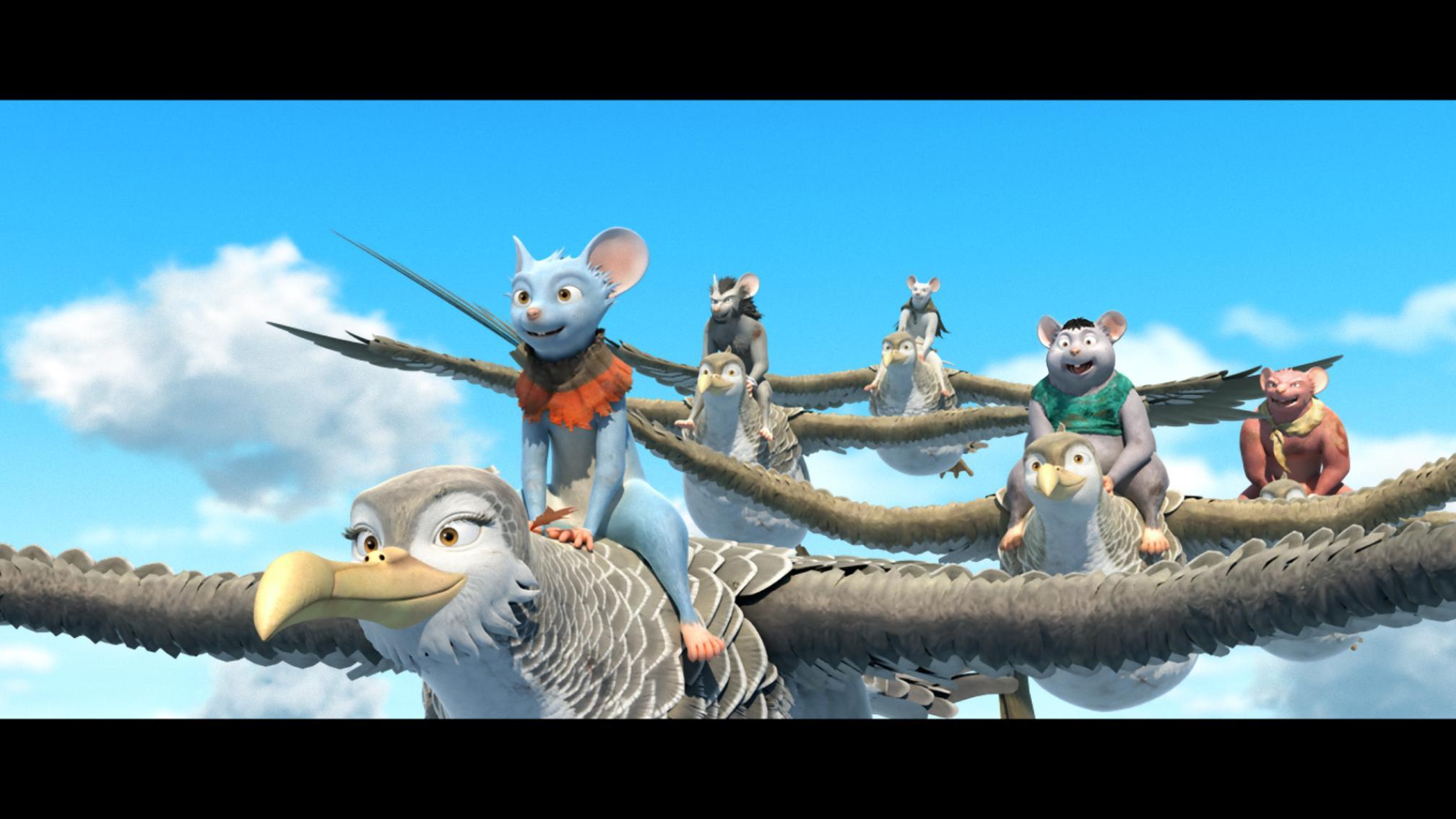 勇鼠的奇幻旅程劇照 3