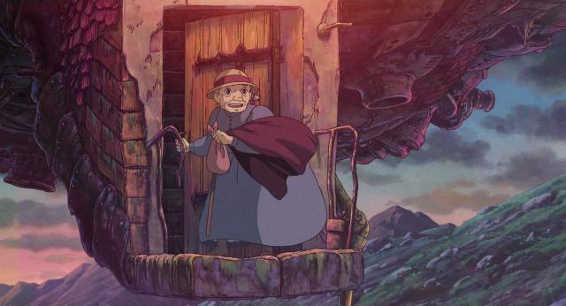 霍爾的移動城堡劇照 4