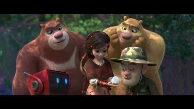 熊出沒之奇幻空間預告片 01