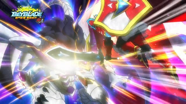 戰鬥陀螺爆烈世代超Z第14集【暴龍!噬血神槍】 線上看