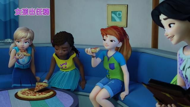 LEGO Friends:女孩出任務 第二季第16集【燈塔奇譚】 線上看