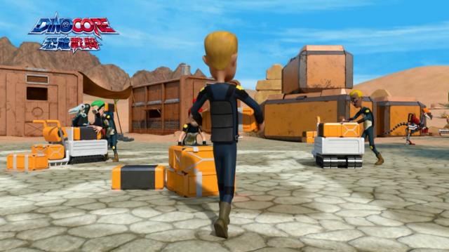 Dinocore恐龍戰騎 第四季第4集【沙漠的戰士 棘龍族】 線上看