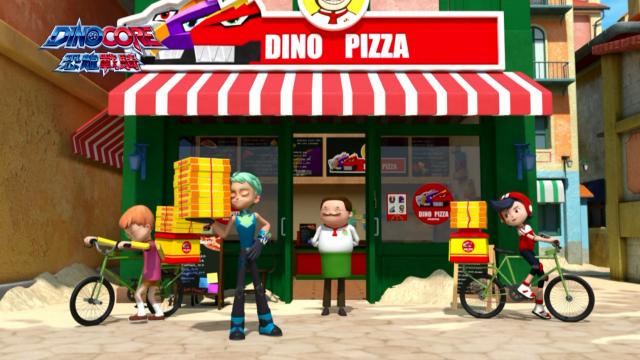 Dinocore恐龍戰騎 第四季第7集【停不下來的暴走機器 鯨鯊轟炸機】 線上看