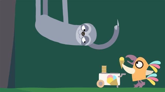 動物哇哈哈 第8集 樹懶先生想吃冰劇照 1