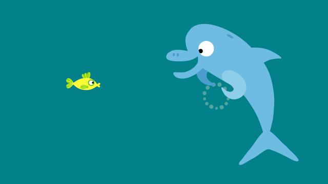 動物哇哈哈 第10集 海豚的彩色泡泡劇照 1