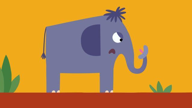 動物哇哈哈 第21集 大象愛唱歌劇照 1