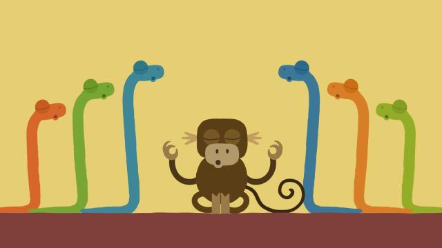 動物哇哈哈 第22集 蛇同學的瑜珈課劇照 1