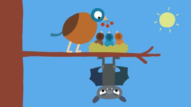 動物哇哈哈 第24集 蝙蝠想睡覺劇照 1