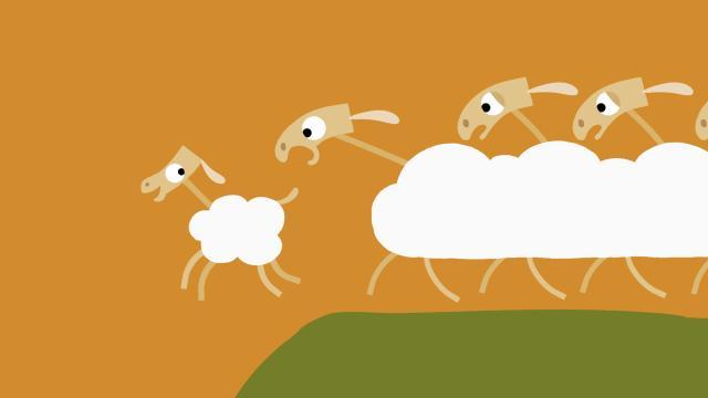 動物哇哈哈 第25集 羊咩咩好勇敢劇照 1