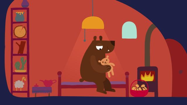 動物哇哈哈 第26集 大熊的冬眠時光劇照 1
