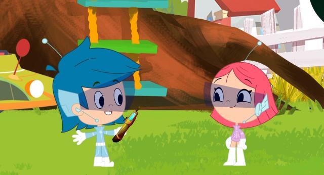 米尼和曼尼 第二季第10集【小小太空旅行家】 線上看