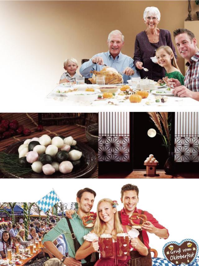 文化大觀園-感恩節與世界各地的秋收慶典 Ⅰ劇照 1