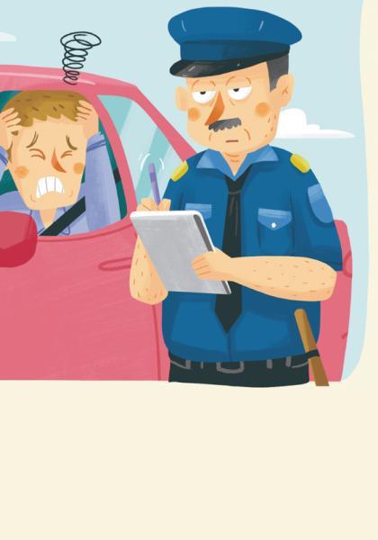 英語愛說笑-警察好無奈線上看