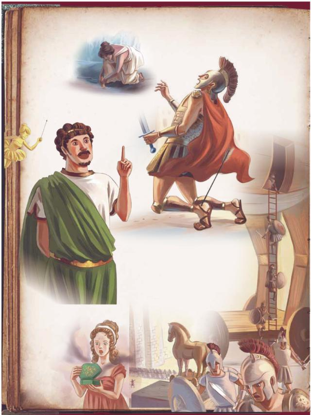 成語典故-源自希臘神話的英文成語 (1)劇照 1