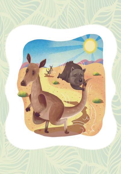 神話傳說-袋鼠育兒袋由來的傳說 (1)線上看