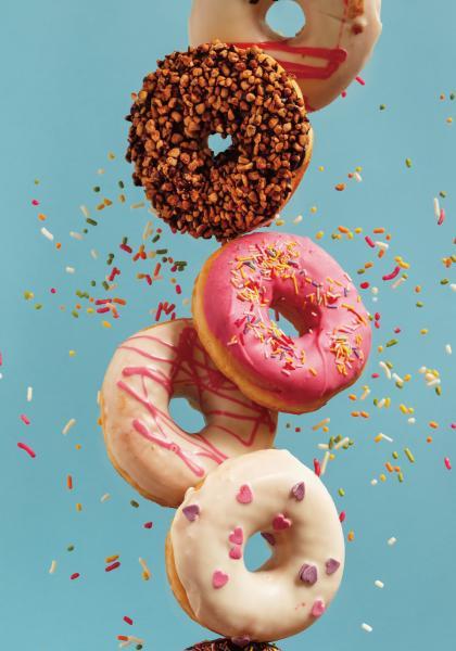 克漏字-美國甜甜圈日的由來線上看