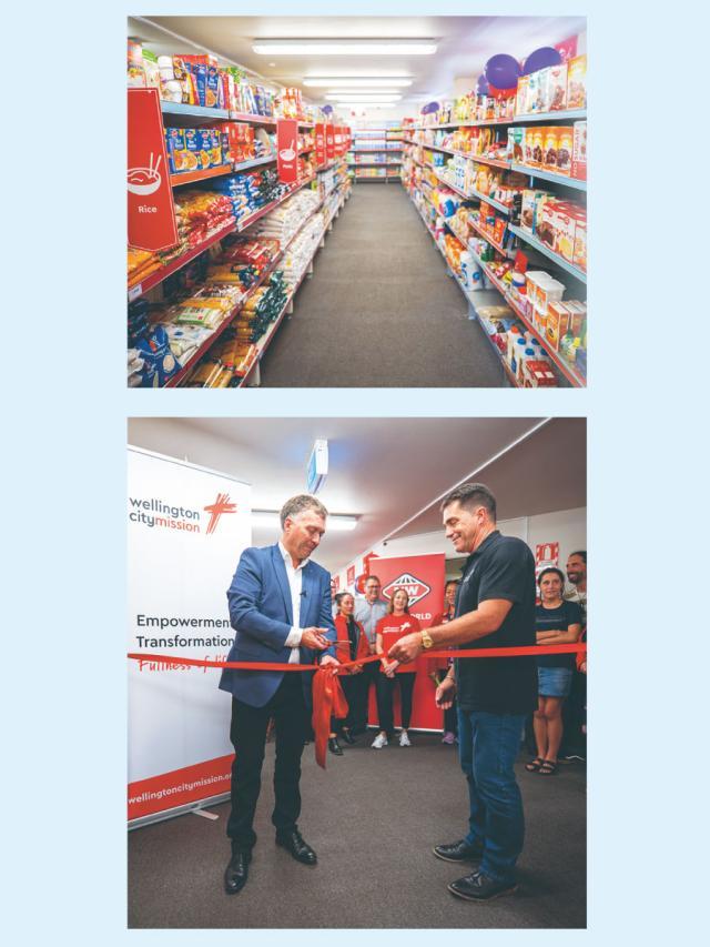 克漏字 紐西蘭首家社會超市開幕了!劇照 1
