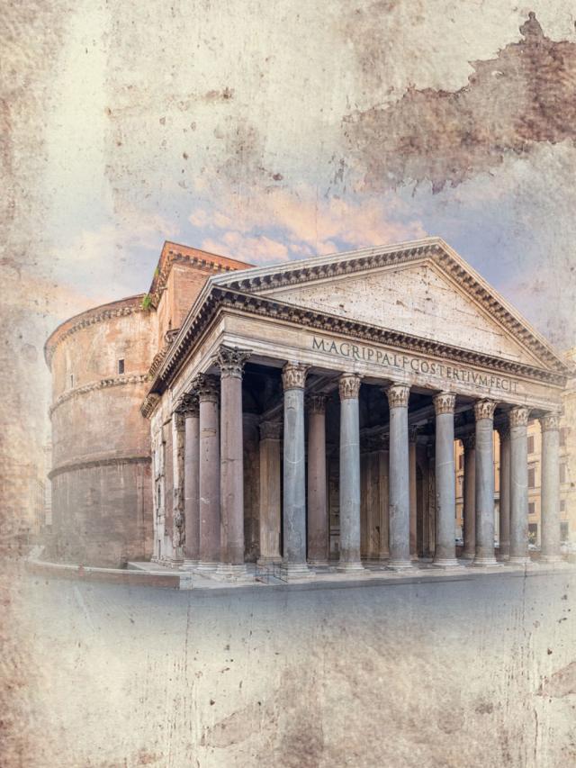 世界好望角--屹立千年的羅馬萬神殿 (1)劇照 1