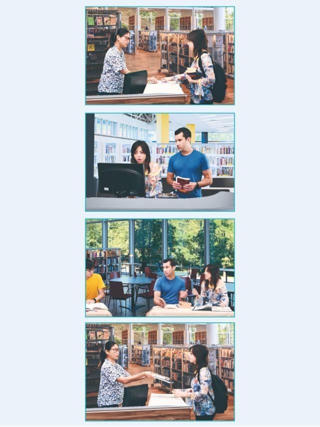 主題式會話 圖書館英語 (2)劇照 1