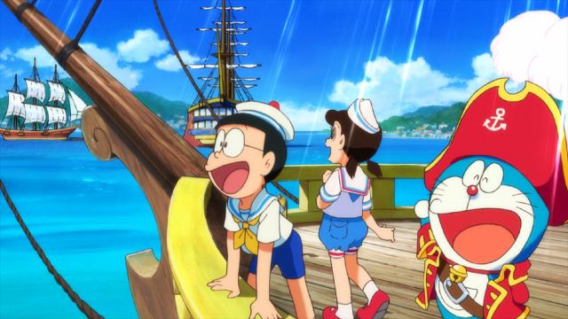 電影哆啦A夢:大雄的金銀島劇照 3