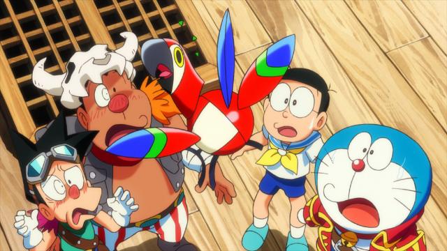 電影哆啦A夢:大雄的金銀島劇照 4
