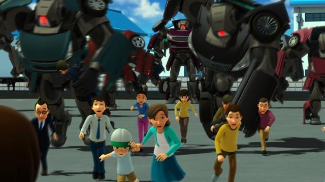 電影版 機器戰士 TOBOT:機器人軍團的襲擊預告片 01