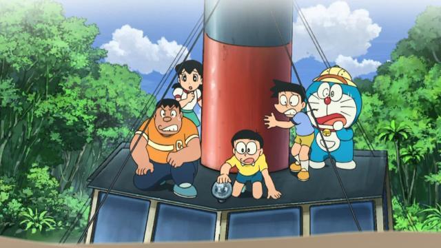 電影哆啦A夢:新大雄的大魔境-扁扁與五人之探險隊劇照 3