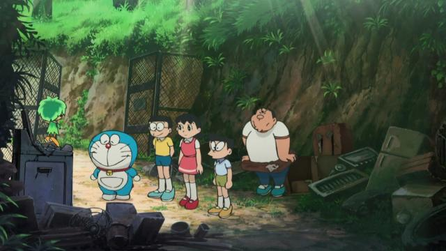 電影哆啦A夢:大雄與綠之巨人傳預告片 01