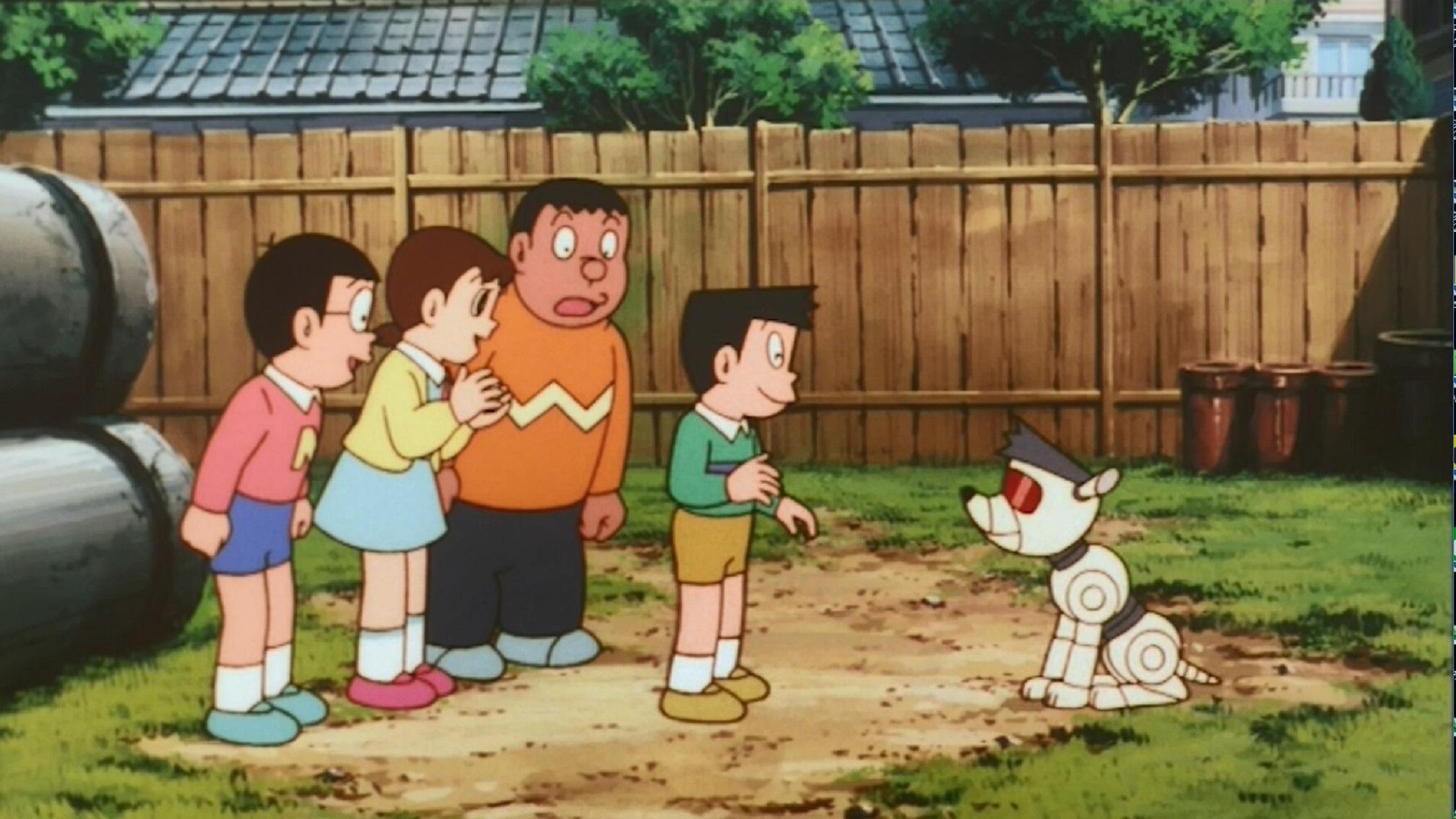 電影哆啦A夢:大雄與機器人王國預告片 01