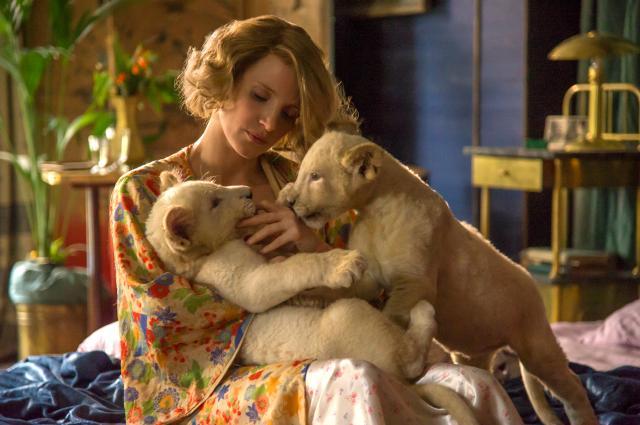 園長夫人:動物園的奇蹟預告片 01