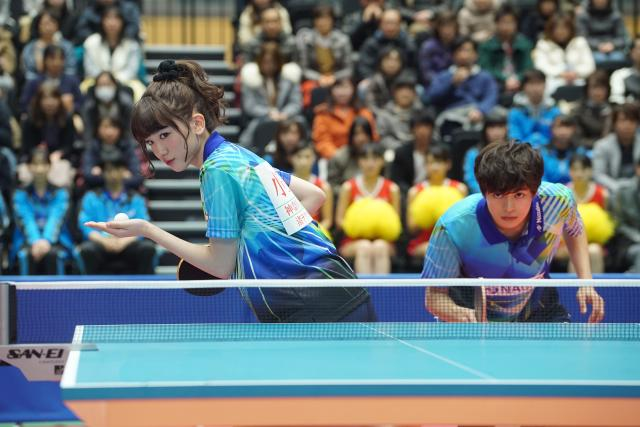 乒乓少女大逆襲劇照 3