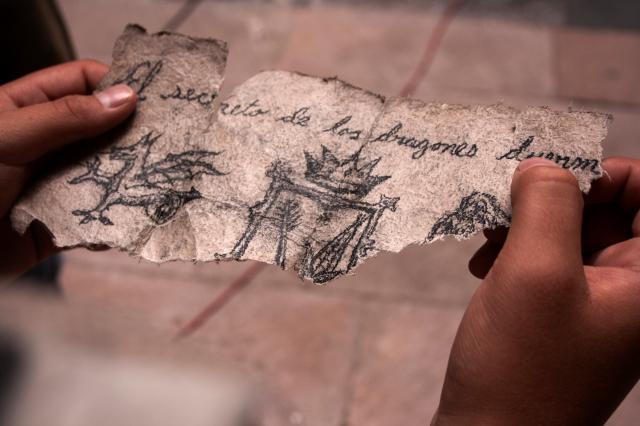 冒險行者:石封的寶藏劇照 3
