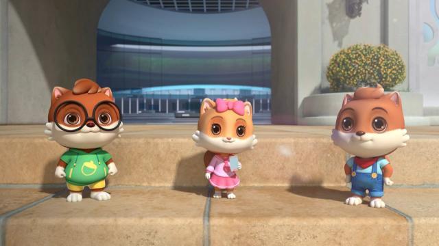 三隻松鼠之松鼠小鎮 第一季劇照 1