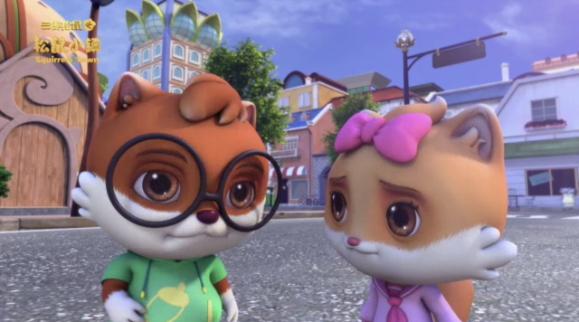 三隻松鼠之松鼠小鎮 第一季第14集【隊長之爭】 線上看
