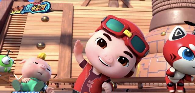 豬豬俠之競速小英雄 全集第33集【內亂!海盜船危機】 線上看