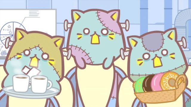 香蕉喵 不可思議的夥伴們第5集【香蕉喵和神秘邸宅 喵】 線上看