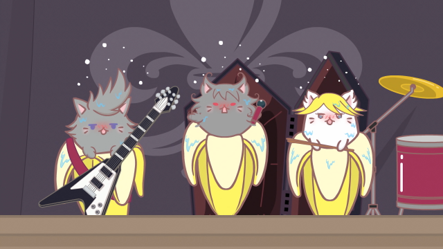 香蕉喵 不可思議的夥伴們第7集【香蕉喵和音樂 喵】 線上看