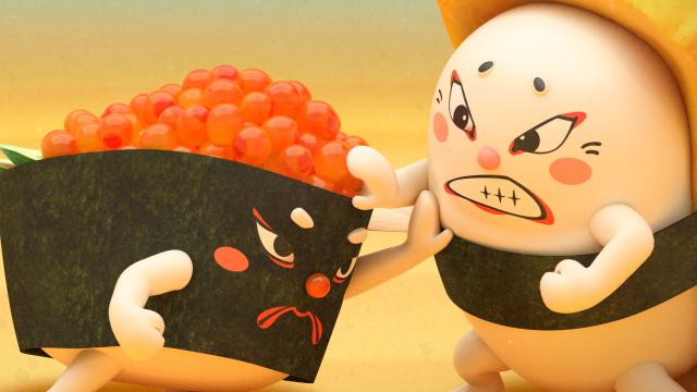 壽司大相撲第1集【蛋卵大對決】 線上看