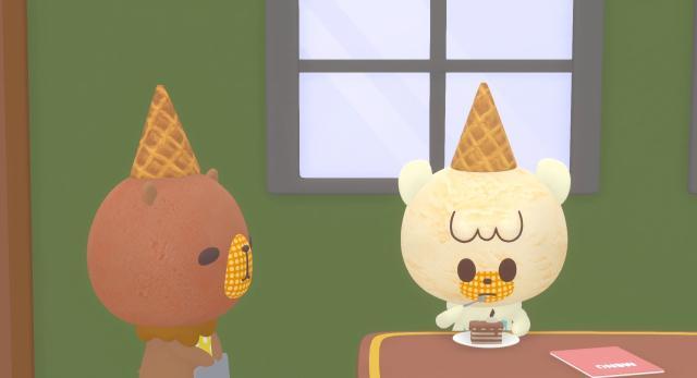 冰冰冰 冰淇淋君第2集【雞手鴨腳咖啡店】 線上看