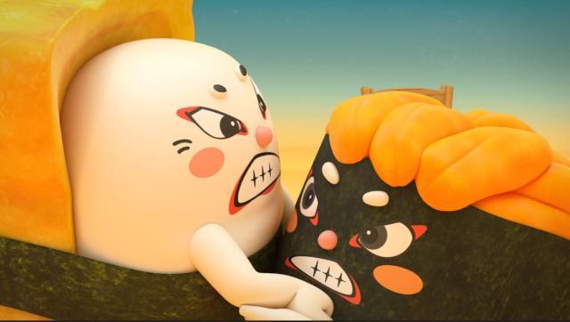 壽司大相撲第18集【第十八場 神祕力士 海膽乃花】 線上看