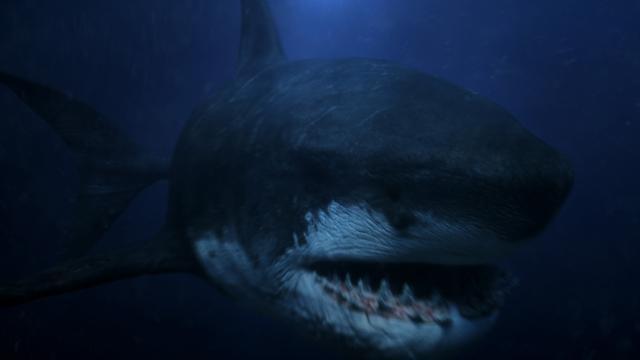 無敵巨鯊大戰機甲猛鯊劇照 1