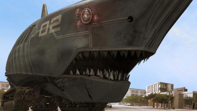 無敵巨鯊大戰機甲猛鯊劇照 3