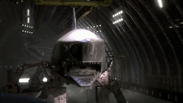 無敵巨鯊大戰機甲猛鯊劇照 2